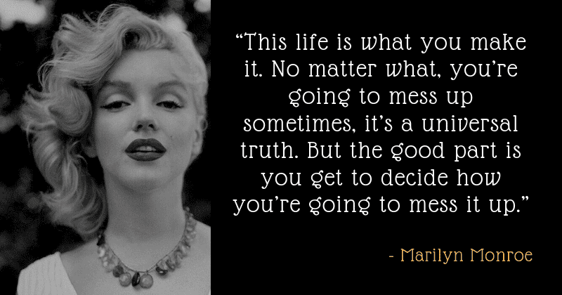 25 Strong Yet Painfully Vulnerable Quotes By Marilyn Monroe