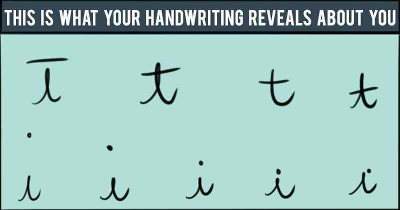 handwriting analysis personality traits