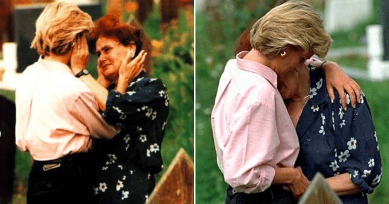 Princess Diana Once Stopped At A Cemetery To Comfort An Unknown