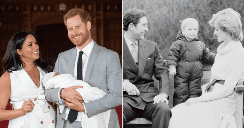 harry and meghan s first christmas card exudes the same family vibe that prince charles and princess diana s did prince charles and princess